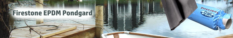 Firestone Pondgard EPDM Rubber Pond & Dam Liner