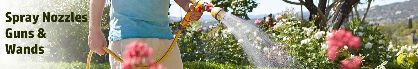 Spray Nozzles, Guns & Wands