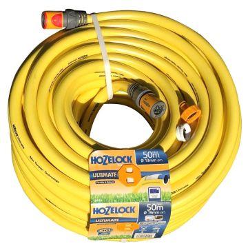Hozelock Ultimate 50m x 19mm(ID) Garden Hose Pipe 139154