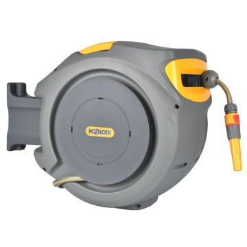 Hozelock 2401 Auto Reel with 20m of 11.5mm ID (nominal) garden hose