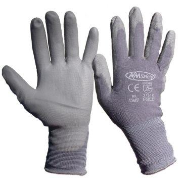 NM Safety Work & Gardening Glove Size 9/L Grey