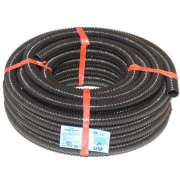 25mm Spiral Ribbed Tubing - Pond Pump Hose  (Vinilflex N) - 20m roll