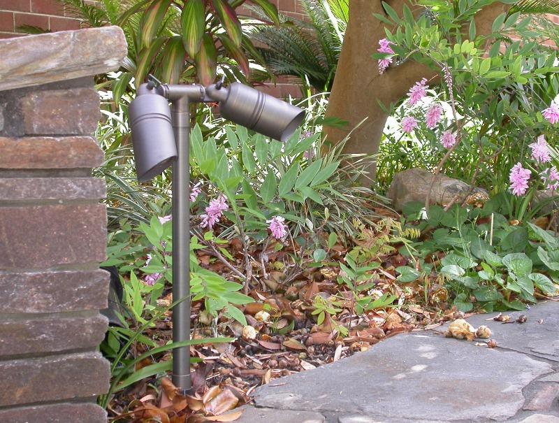Brass Garden Lights